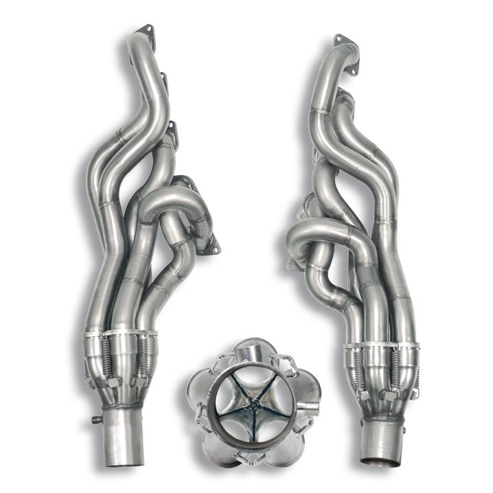 BMW M - BMW E61 (Touring) M5 5.0i V10 '05 ->(Ø70mm system) Manifold Right - Left<br>(Left / Right Hand Drive)<br>SUPERSPRINT DESIGN PATENT, performance exhaust systems