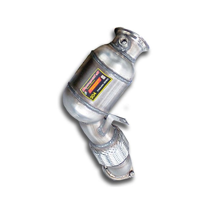 BMW - BMW F01 / F02 / F03 750i xDrive V8 '09 -> 2012 Turbo downpipe kit +  Metallic catalytic converter Right, performance exhaust systems