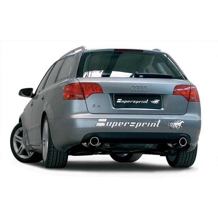 Audi A4 20 Tfsi 200 Hp Sedan Avant 05 09 Audi Exhaust