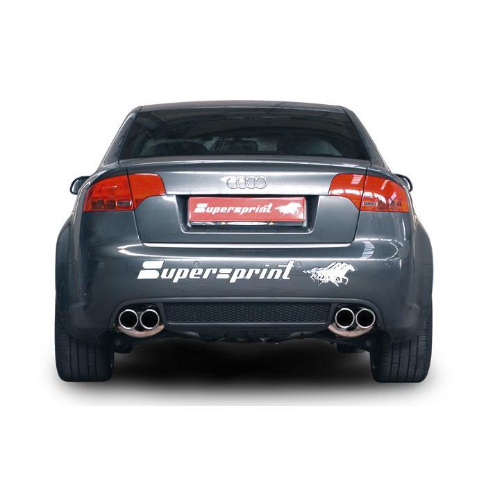 AUDI A4 B7 RS4 QUATTRO '06 -> Supersprint Komplett