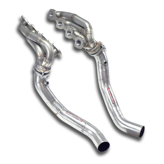 "Mercedes AMG - MERCEDES W211 E 55 AMG V8 (Sedan + S.W.)  '02 -> '06 ""Shortie"" headers Stainless steel 310S<br>(Fit both LHD + RHD models), performance exhaust systems"