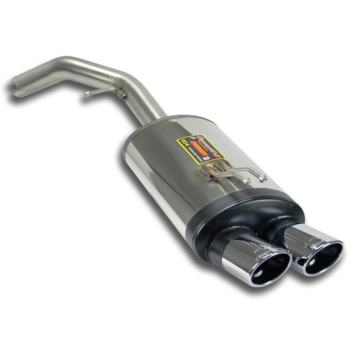 FIAT - FIAT STILO ABARTH 2.4i 20v Rear exhaust 90x70, performance exhaust systems