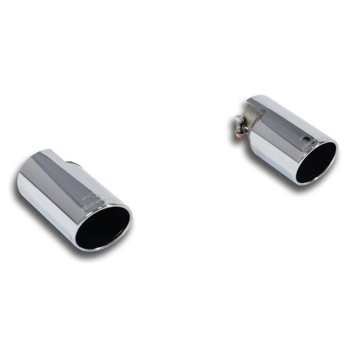 Audi - AUDI A3 8P 1.6 TDi (90/105 Hp) '09 ->'13 Endpipe kit Right O90 - Left O90, performance exhaust systems