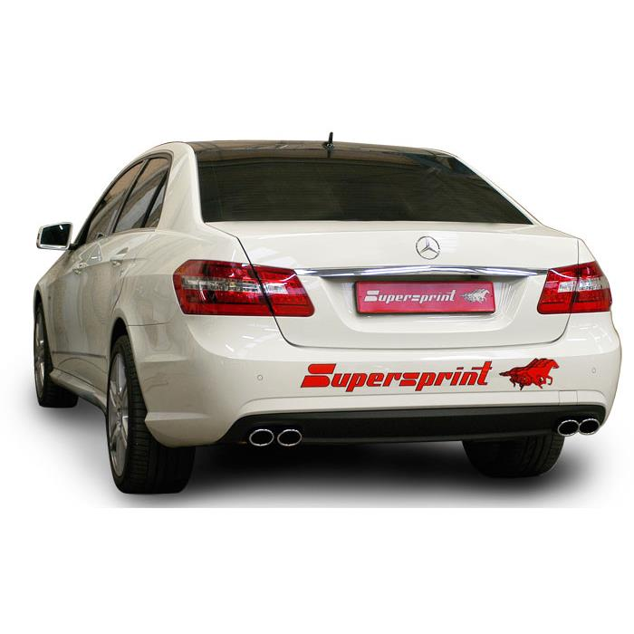 Supersprint exhaust system for Mercedes C350 CDI W204