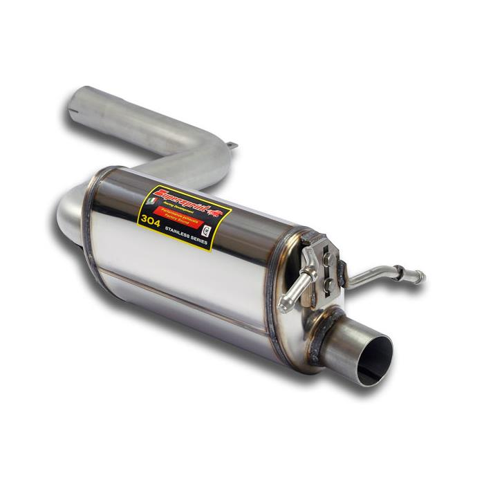 "Mercedes - MERCEDES W204 C 320 CDI V6 (224 Hp) '07 ->'09 Rear Exhaust Left ""Racing"", performance exhaust systems"