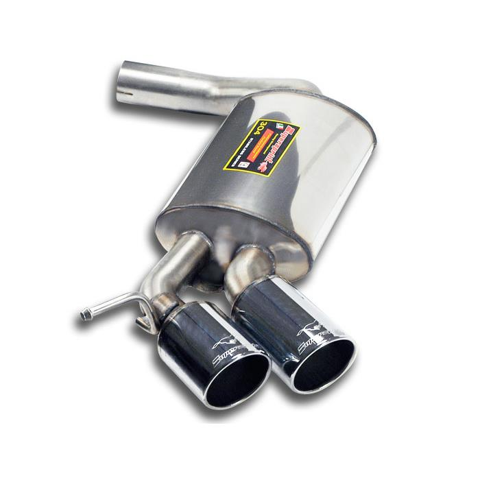 BMW - BMW E87 118d 2004 -> 2006 Rear exhaust OO80<br>(For M-Technik kit), performance exhaust systems