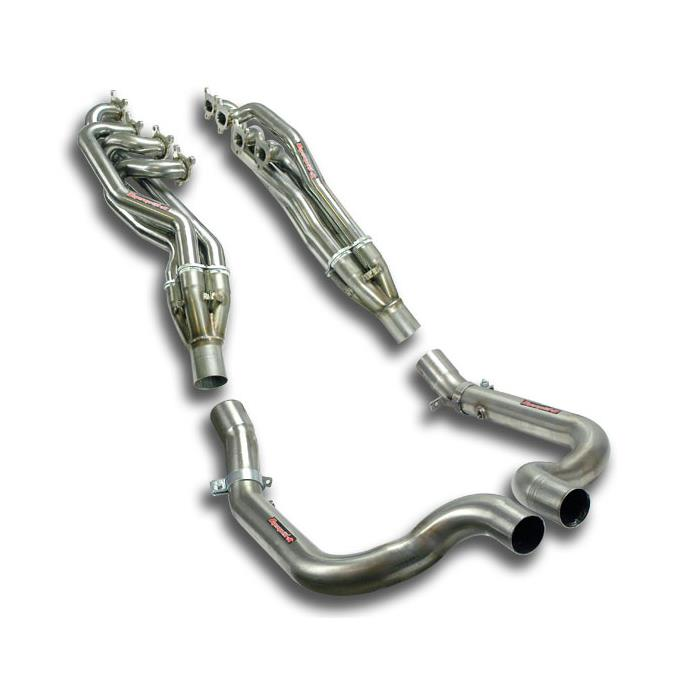 Porsche - PORSCHE Panamera GTS 4.8i (430 Hp) 2010->2014 Manifold Right - Left + Connecting pipes<br>(Left Hand Drive), performance exhaust systems