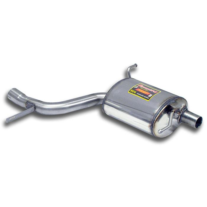 Mercedes - MERCEDES R172 SLK 350 V6 (M276 - 306 Hp) 2011 -> 2015 Rear exhaust Right, performance exhaust systems