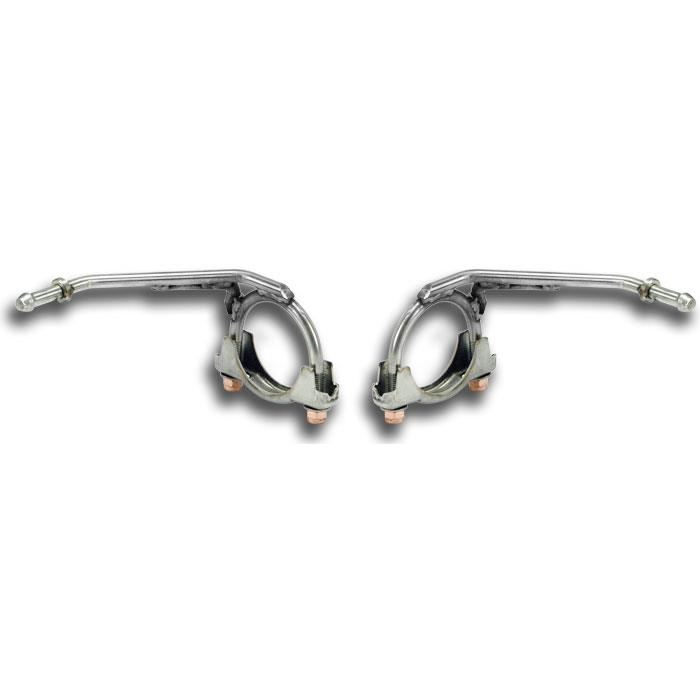BMW - BMW E70 X5 35d 2008 -> Enpipes hanger kit Right - Left, performance exhaust systems