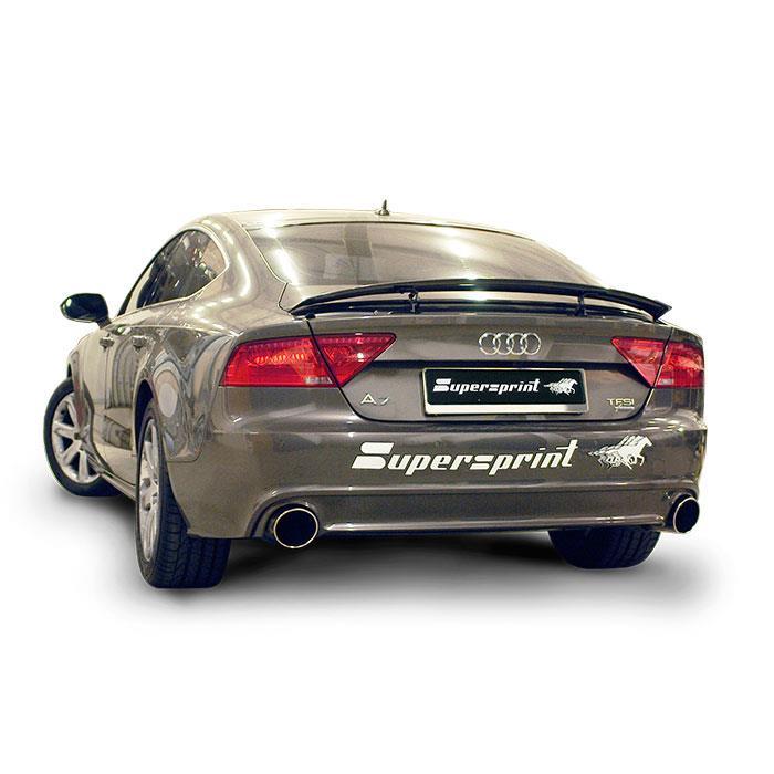 Audi A7 3 0 Tfsi Full Supersprint Exhaust Vid 233 Os