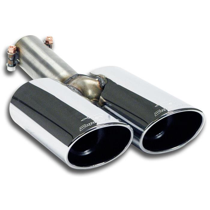 Peugeot - PEUGEOT RCZ 1.6 THP (200 Hp) 2010 -> Endpipes kit 100x75, performance exhaust systems