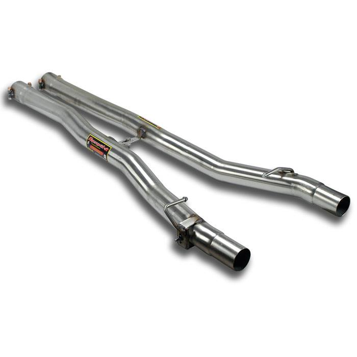 BMW - BMW F12 / F13 640d xDrive 2012 -> Centre pipes kit Right - Left, performance exhaust systems