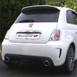 500 ABARTH 1.4T (135 Hp) '08 Komplette Supersprint Abgasanlage