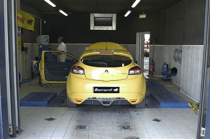 Dyno run with full system and remap