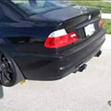 BMW M3 E46 - Supersprint Race rear exhaust only