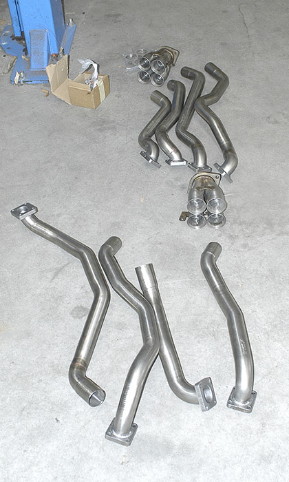 Pre-assembly headers