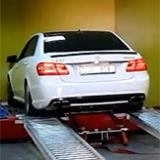 Mercedes E63 AMG with Supersprint exhaust  - Dyno testing