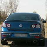 VW Passat R36 - Full Supersprint Exhaust - Acceleration