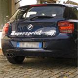 BMW F20 125i 2.0T (218 PS) 2012 -> Supersprint Abgasanlage