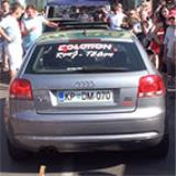 AUDI A3 8P QUATTRO 3.2i VR6 (250 PS) '04 -> Supersprint Abgasanlage