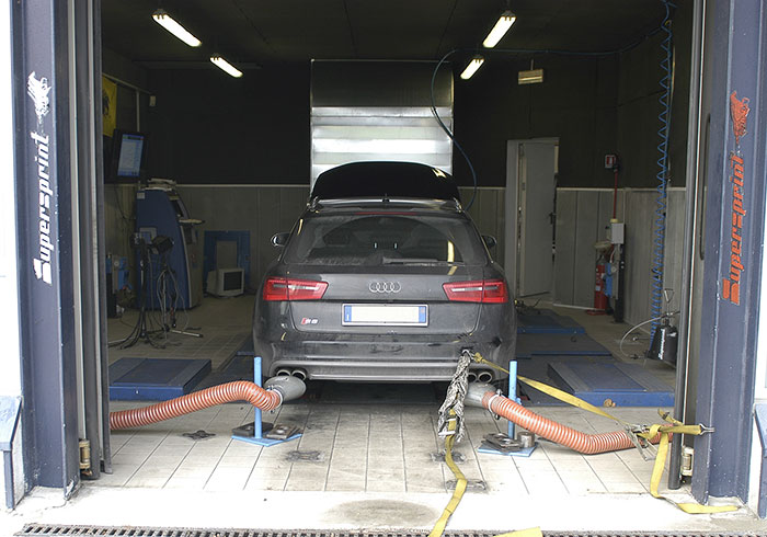 AUDI A6 S6 C7 Typ 4G Quattro 4.0T (420 PS) 2012 –› Dyno