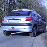PEUGEOT 206 GTI 2.0i (135 PS) '01 -> Supersprint Ab Kat
