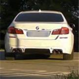 "BMW F10 / F11 528i (2.0 Turbo 4 zyl. 245 PS) 2012 -> Supersprint Anlage ab Katalysator ""M5 style"""