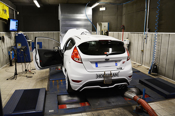 FORD FIESTA ST 1.6T (182 PS) '13 –› Dyno