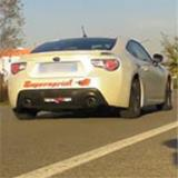 "SUBARU BRZ 2.0i (200 PS) -> Supersprint ""Overpipe back"""