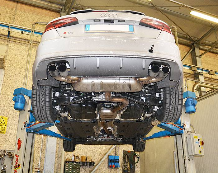 Audi S3 8v 8va 2013 Gt Supersprint Auspuffanlage In