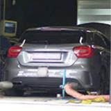 MERCEDES W176 A 45 AMG (360 PS) 2013 -> Supersprint komplett-Auspuffanlage - Dyno