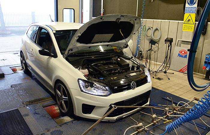 VW POLO R WRC 2.0 TSI (220 PS) 2013 –› Dyno