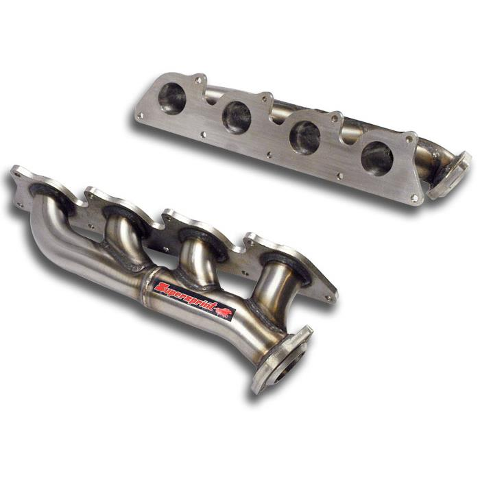 "Mercedes - MERCEDES W221 S 500 / S 550 4-Matic V8 '05 -> '10 Manifold ""Shorty""<br>(Left / Right Hand Drive)<br>(For OEM catalytic converter), performance exhaust systems"