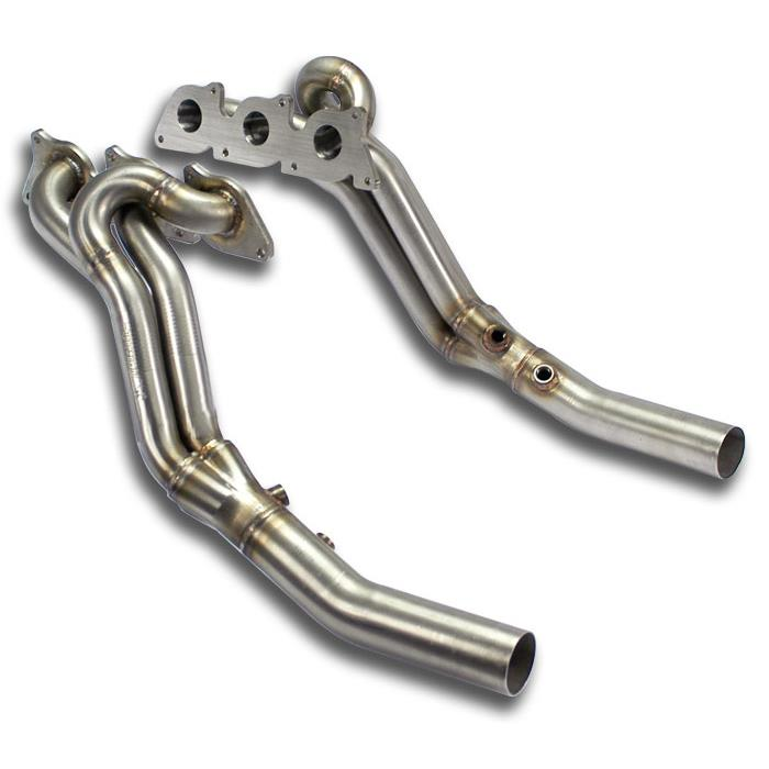 Mercedes - MERCEDES W203 (Sedan + S.W.) C 350 V6 (272 Hp) '05 -> '06 Manifold Right - Left (Left Hand Drive), performance exhaust systems