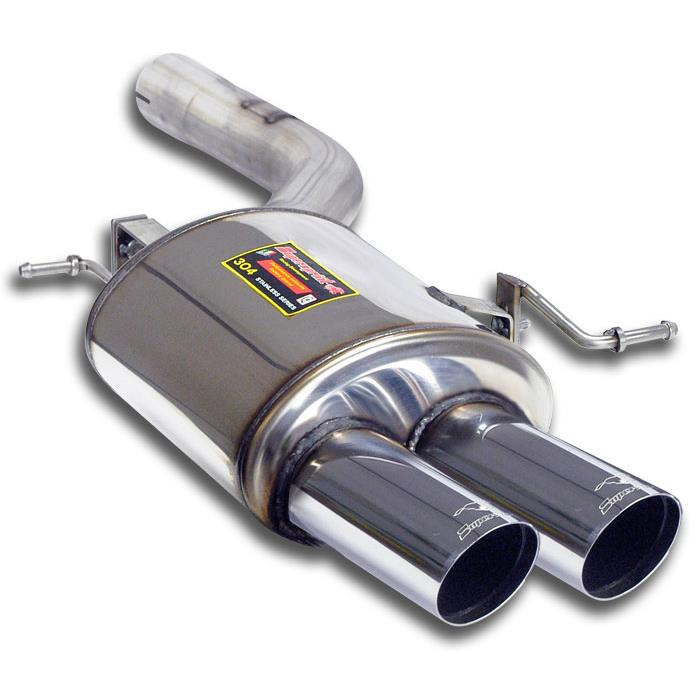 BMW - BMW F01 / F02 750d xDrive LCI 2012 -> Rear exhaust LeftOO76<br>Under development, performance exhaust systems