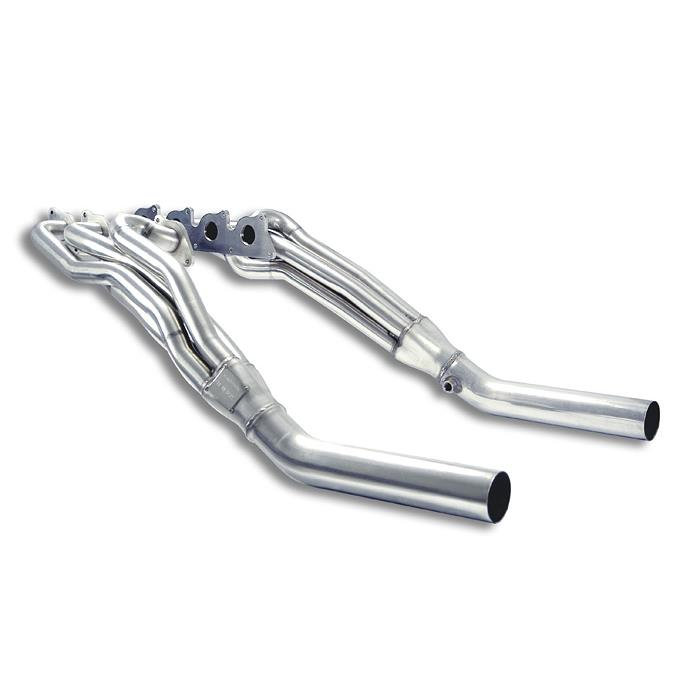 Mercedes - MERCEDES W211 E 500 / E 550 V8 (388 Hp 4v) (Sedan + S.W.) '06->'09 Manifold Right + Left<br>(Left Hand Drive), performance exhaust systems