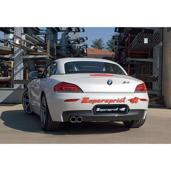 Bmw Z4 Sdrive28i: Scarico Sportivo Per Z4 28i / SDrive28i, BMW E89 Z4 28i