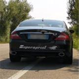 MERCEDES C219 CLS 350 V6 -> Impianto Catback Supersprint