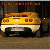 LOTUS EXIGE S Supercharged (240 Hp) '06 -> Impianto di scarico completo Supersprint