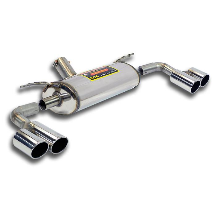 BMW - BMW F20 / F21 125i 2.0T (218 Hp) 2011 -> 2014 Rear exhaust Right OO80 - Left OO80, performance exhaust systems