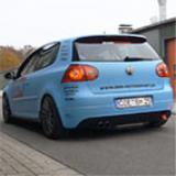 VW GOLF V GTI 2.0 Turbo FSi (200 Hp) by BBM Motorsport (www.bbm-motorsport.de) -> Impianto di scarico completo Supersprint