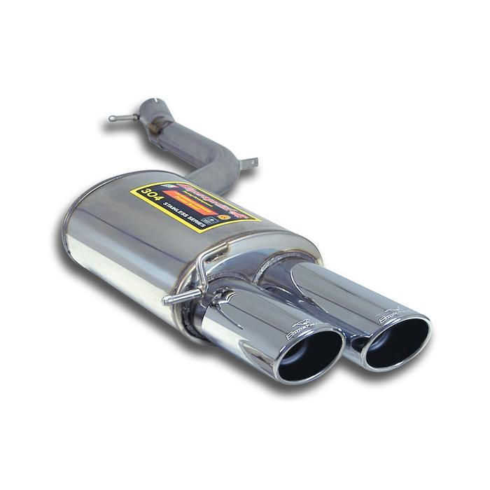 Audi - AUDI A8 QUATTRO 4.2i V8 2003 -> 2009 Rear exhaust Left 90x70, performance exhaust systems