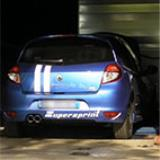 "RENAULT CLIO III GT/Gordini 1.6i 16v (128 Hp) 2009 -> Sistema ""Cat-back"" Supersprint (prova al banco)"