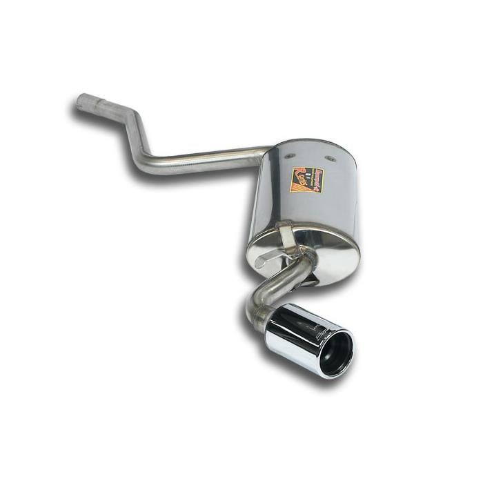 FIAT - FIAT CINQUECENTO 700 cc '92 -> '97 Rear exhaust O76 STEEL 409, performance exhaust systems