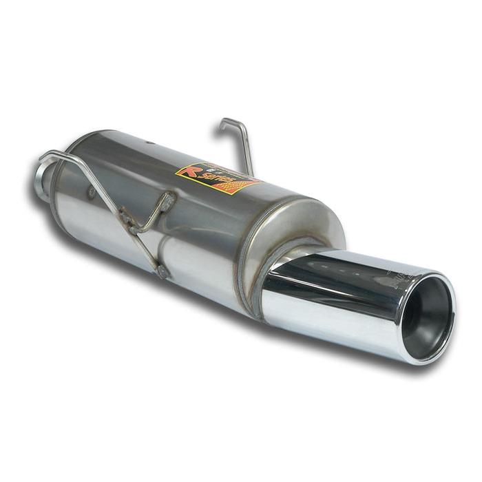 Peugeot - PEUGEOT 106 '96 1.6 RALLYE (101 Hp) Rear exhaust O100 STEEL 409, performance exhaust systems