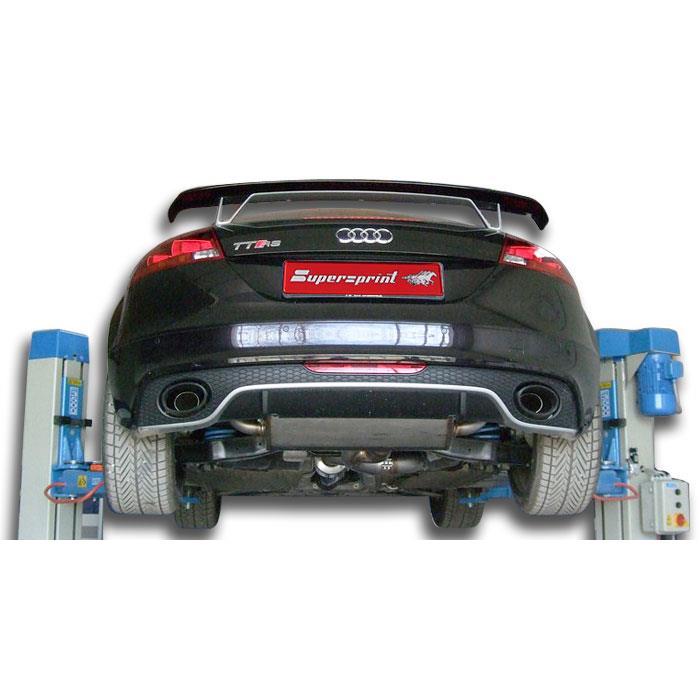 Aka Performance Sport Exhaust For Audi Tt Rs 8j 80 Mm With Valve: Audi Tt Performance Exhaust Systems At Woreks.co