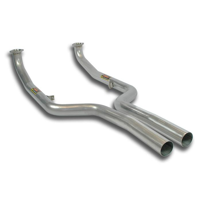 Alpina BMW - ALPINA B7 (F01) 4.4i V8 4x4 (507 Hp) 2011 -> 2012 Front pipes kit Right - Left, performance exhaust systems