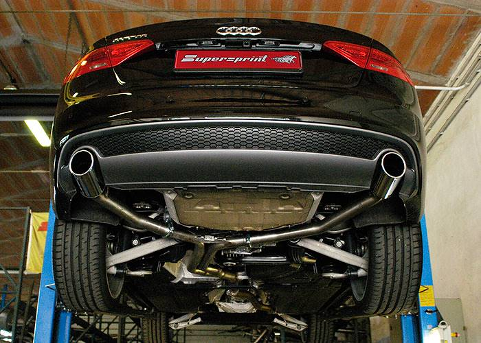 A5 3.0 TDI facelift 245 hp with Supersprint sport exhaust 767214 + 767224