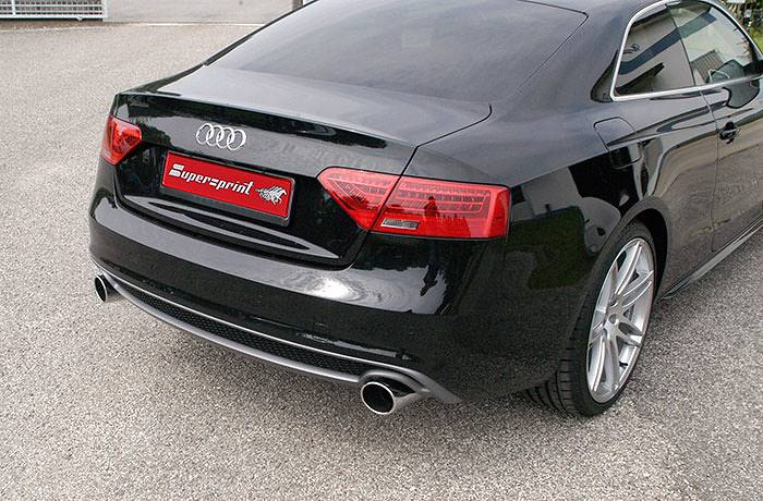 A5 3.0 TDI facelift 245PS with Supersprint sport exhaust 767214 + 767224