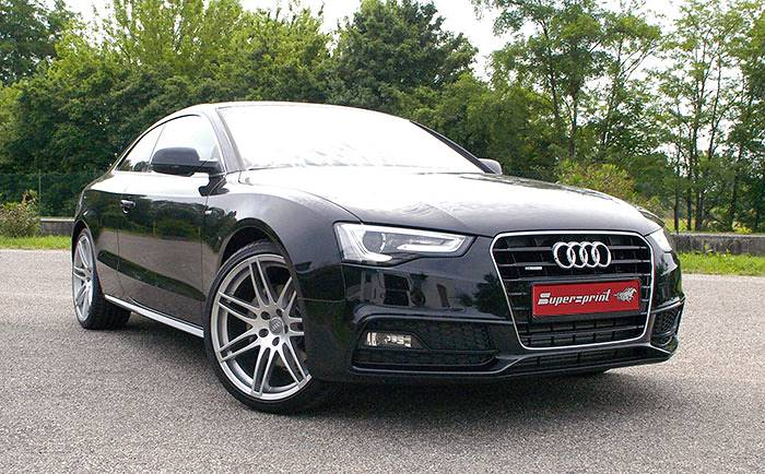 A5 3.0 TDI facelift 245 hp with Supersprint sport exhaust